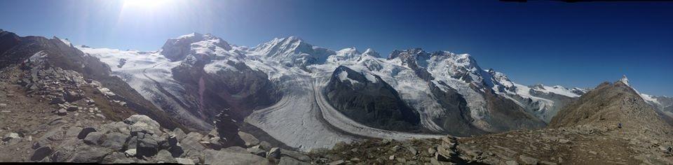 2. panorama vanaf de Gronergrat