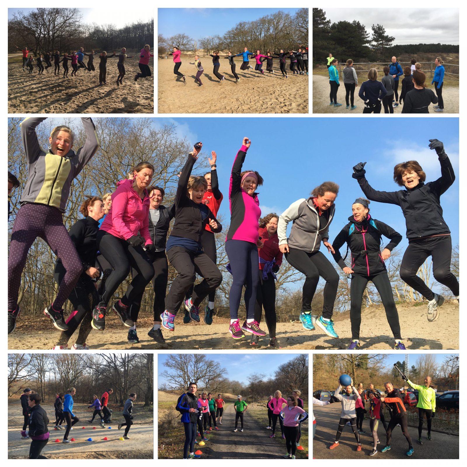Trainingen maart